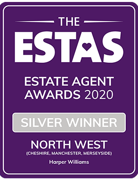 Award Silver for Best Estate Agents in North East