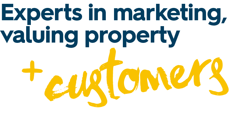 Experts in marketing valuing property