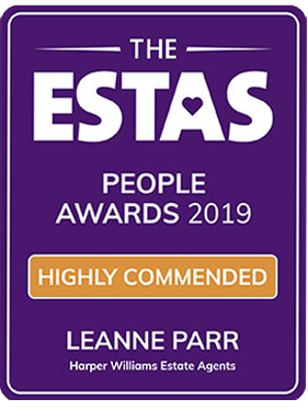 Estas Award Highly Commended Leanne Parr 2019